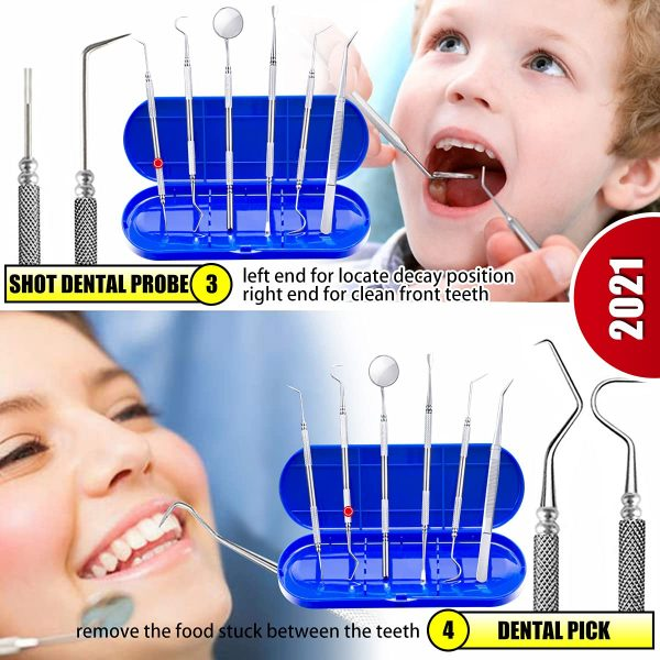 Professional Teeth Cleaning Tools