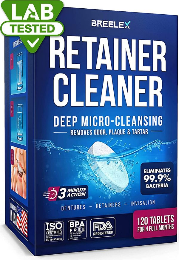 Retainer Cleaner Tablets