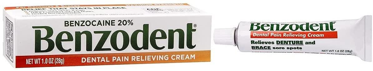 Benzodent Dental Pain Cream