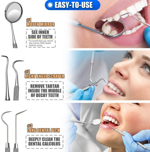 Teeth Cleaning Tools Set