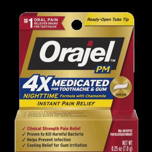 Orajel Pain Relief Cream