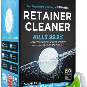 Retainer & Denture Cleaning Tablets
