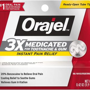 Orajel 3X for Toothache