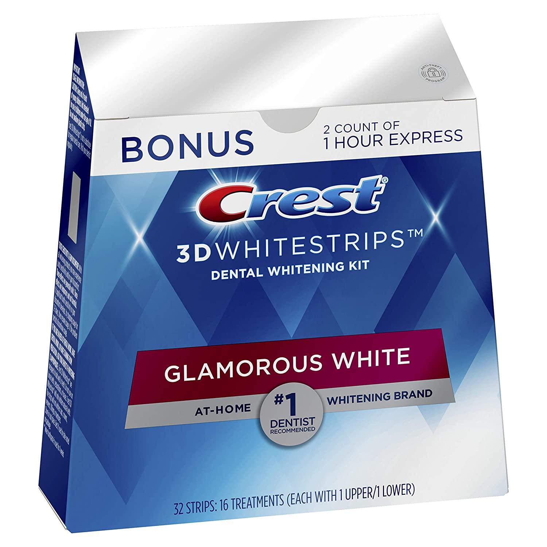 Crest 3D Whitestrips Glamorous White